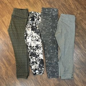 Gray & Black Legging Bundle!